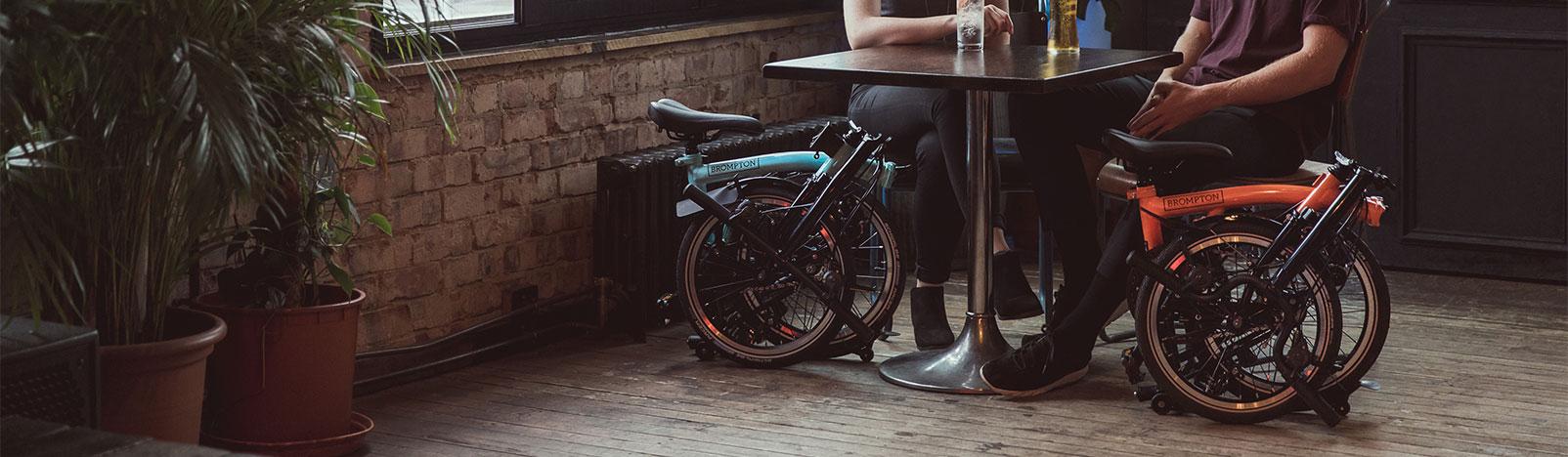 Brompton Black Edition folding bike